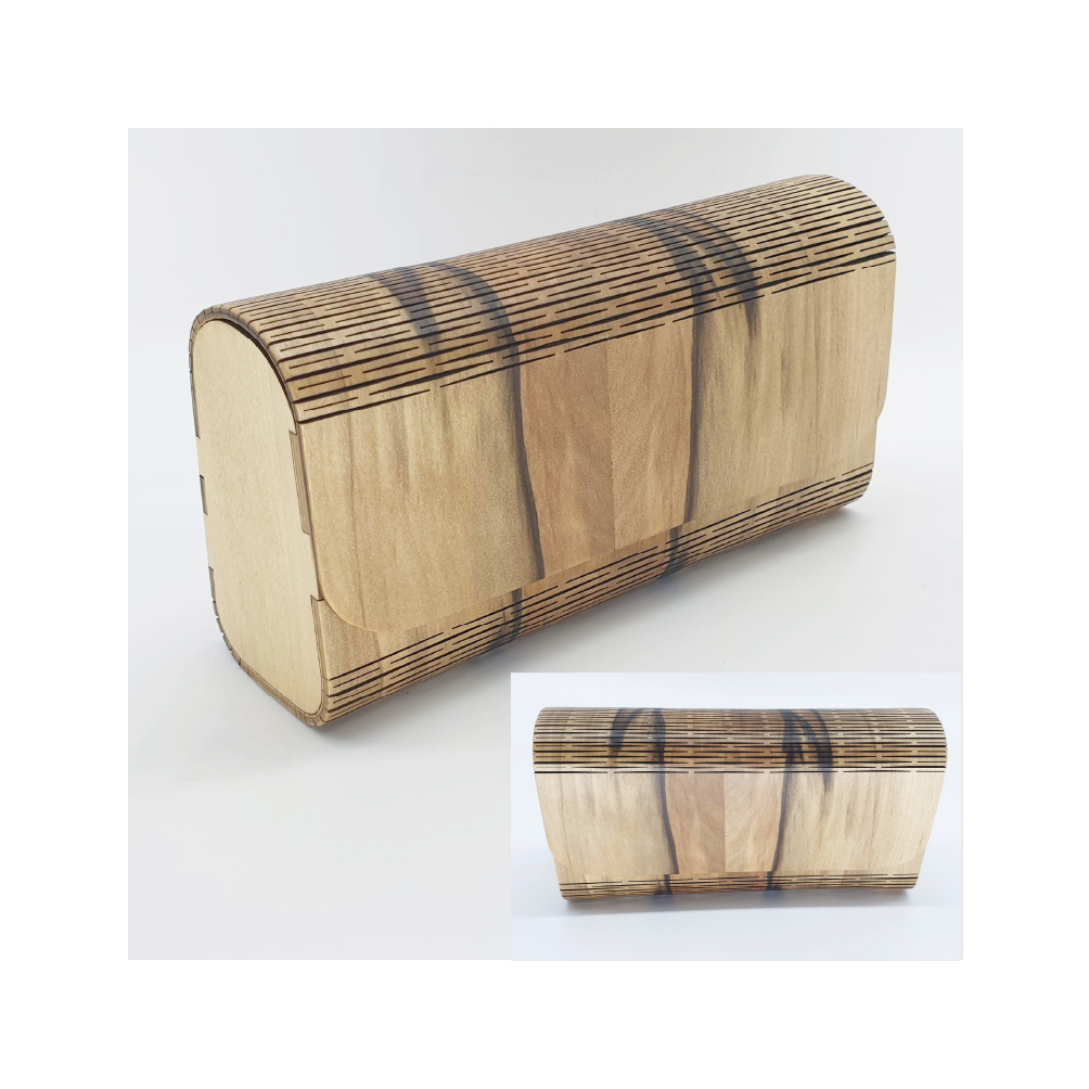 Timber Clutch Purses