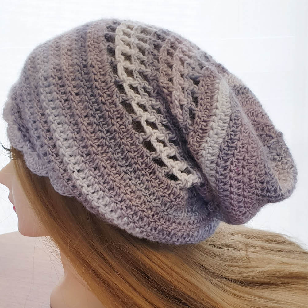 Crocheted Beanies and Hats