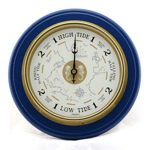 Classic Style Tide Clock - Blue