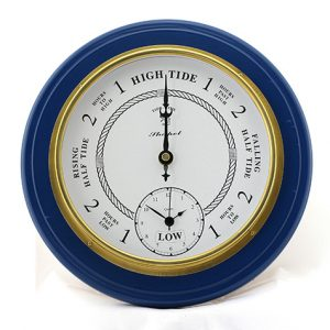 Tide & Time Clock - Blue