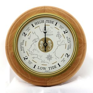 Classic Style Tide Clock - Natural
