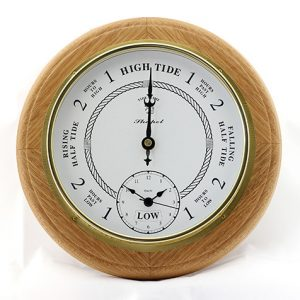 Tide & Time Clock - Natural